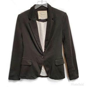 Anthro Cartonnier Black Blazer